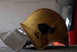 تجلیل خانواده شهدا و ایثارگران از آتش نشانان