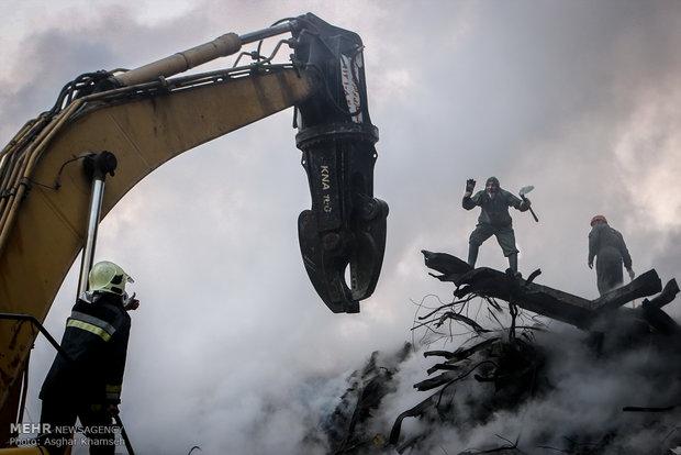 وضعیت حقوقی بدهکارانی که مفقود شدند/تعیین ارزش سرقفلی پلاسکو