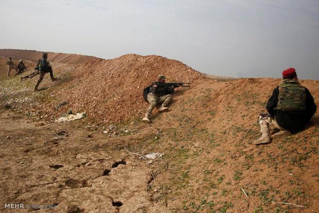 تقدم القوات العراقية في شرق الموصل