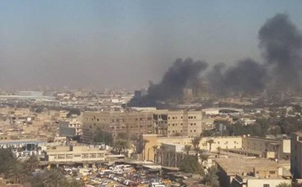عشرات القتلى والجرحى في تفجير في بغداد