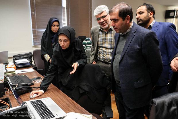 بازدید رئیس امور فرهنگی ورزشی سازمان مدیریت برنامه وبودجه از مهر