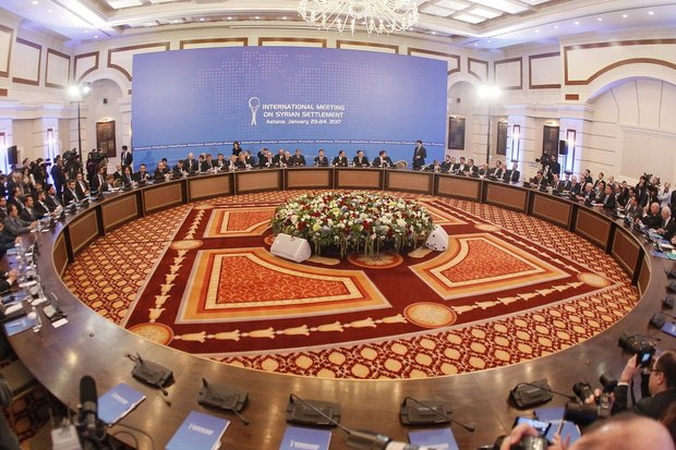 Trilateral meeting discusses Syrian ceasefire in Astana