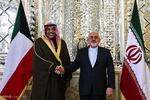 ایران اور کویت کے وزراء خارجہ کی ٹیلیفون پر گفتگو