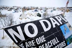 ادامه اعتراضات به پروژه خط لوله داکوتای شمالی