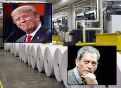 مقاومت تشکلهای چاپ مقابل افزایش تعرفه کاغذ/ پل استر علیه ترامپ