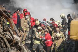 عملیات امداد و نجات ساختمان پلاسکو