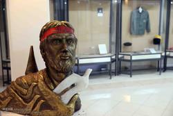 نمایشگاه «دربند رنگ» در موزه شهدا افتتاح شد