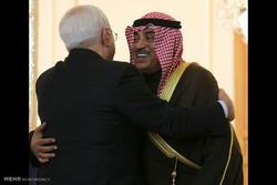 دیدار صباح الخالد الصباح وزیر خارجه کویت با محمد جواد ظریف وزیر خارجه ایران