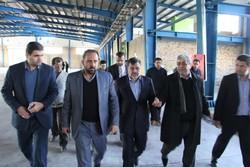 بازدید سرزده استاندار قزوین از شهرک صنعتی کاسپین
