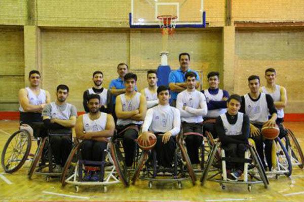 فريق كرة السلة الإيراني للمقعدين تحت 23 عاما بطلُ آسيا للشباب