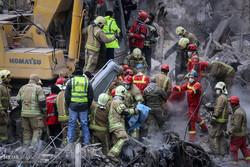 عملیات امداد و نجات ساختمان پلاسکو -۲۱