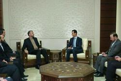 Bashar Assad receives Amir-Abdollahian