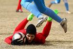 تیم فوتبال دختران ایران از صعود به فینال بازماند
