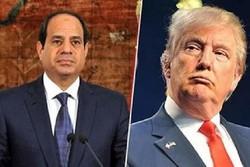 ترامپ: مصر در مبارزه با تروریسم تلاش کرده است/سیسی: از آمریکا متشکرم