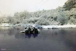 Snow in Boroujerd
