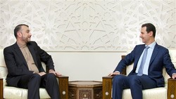 Tehran, Damascus reiterate support for Syria truce