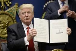 فرمان ترامپ کادوی یک سالگی برجام