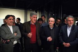 بازدید دو وزیر از جشنواره تجسمی