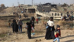 5200 Iraqis return to liberated areas of eastern Mosul