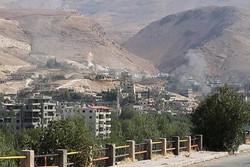 وادی بردی در حومه دمشق سوریه