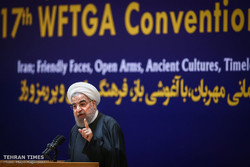 Opening ceremony of the 17th World Federation of Tourist Guide Associations in Tehran