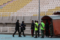 درگیری مدیرعامل سیاه جامگان با نیروی انتظامی/ استقبال اندک تماشاگران