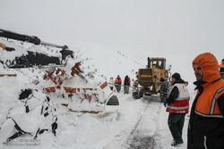 سقوط بهمن در جاده اردبیل - سرچم/بهمن تلفات جانی نداشت