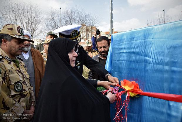 Jamaran destroyer replica unveiled in Mashhad