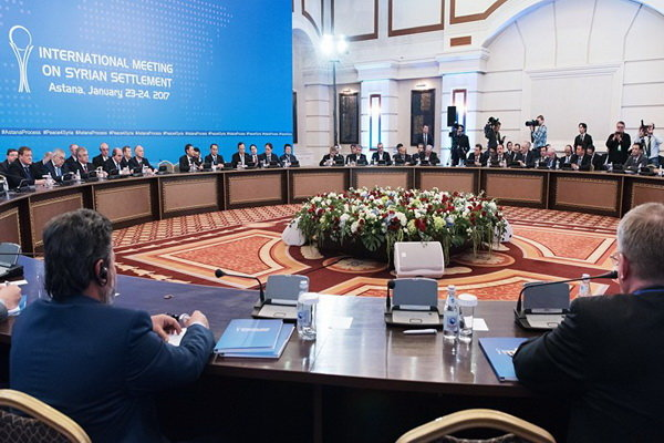 Next Astana meeting On Syria likely in mid-February