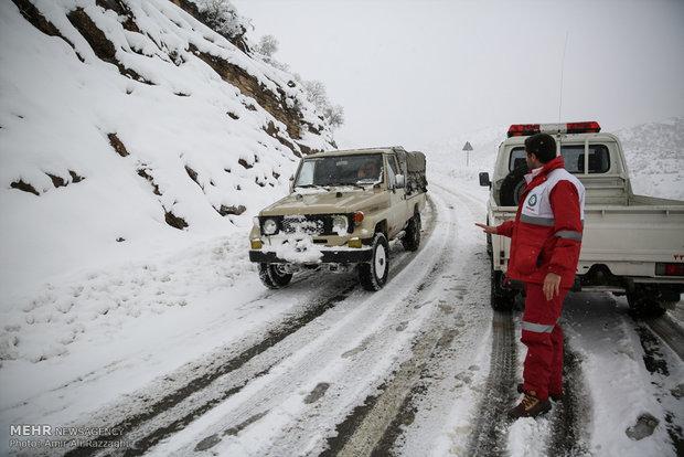 Avalanche fall in Kurdistan
