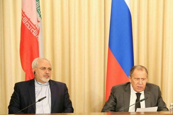 وزير خارجية إيران يجري اتصالا بنظيره الروسي