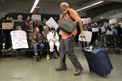 اعتراض به ممنوعیت ورود مسلمانان به آمریکا