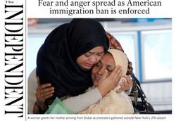 صفحه اول روزنامههای انگلیسی ۱۰ بهمن ۹۵