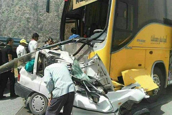 واژگونی دو مینی بوس در شبانه روز گذشته/یک کشته در سه تصادف