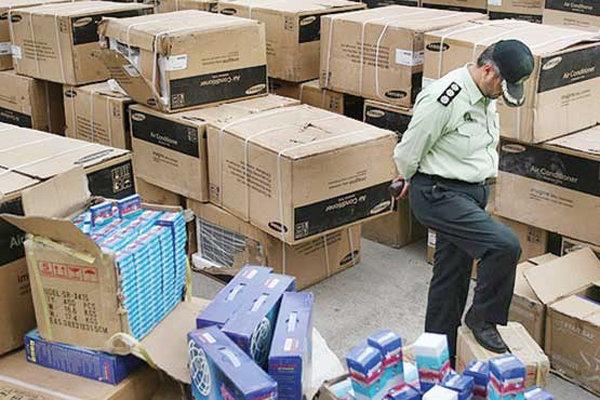 توقیف ۶ میلیارد ریال انواع کالای قاچاق در دشتستان