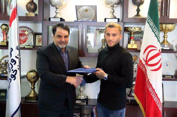 کاپیتان تیم ملی فوتبال افغانستان به پیکان پیوست