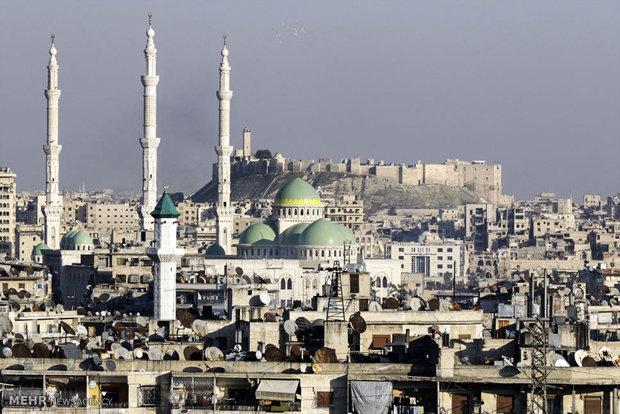 قلعة حلب تستقبل أول رحلة سياحية منذ انتهاء القتال