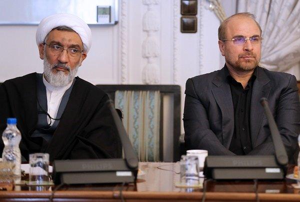 جلسه بررسی حادثه پلاسکو با حضور قالیباف در ریاست جمهوری برگزار شد