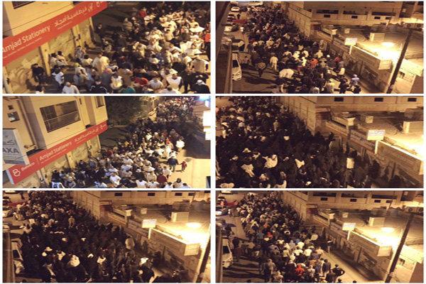 Bahreyn'deki rejim karşıtı gösteriler: Video
