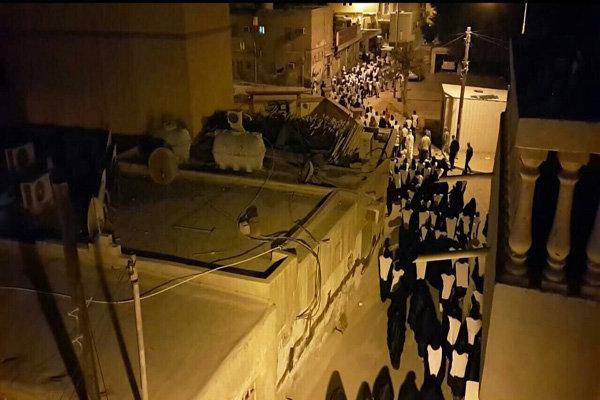 مسيرة الأكفان تلبية لنداء العلماء في البحرين/فيديو