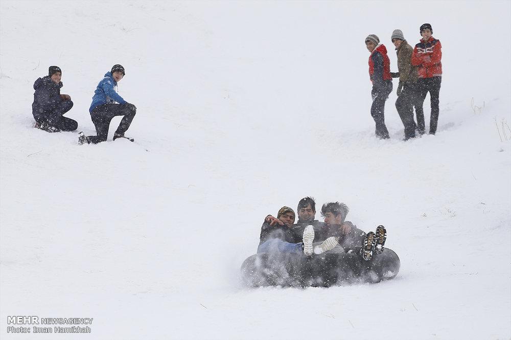 بارش برف و برودت هوا در کشور؛ مدارس کدام استانها تعطیل شدند؟