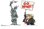 Immigrants go home