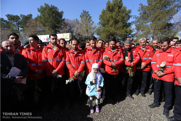 Impressive funeral held to pay tribute to hero firemen