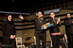 کنسرت موسیقی همایون شجریان در آمل