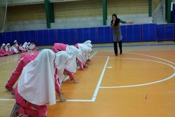 سالن ورزشی دانش آموزی