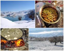 گشتوگذار از «بدره» تا «دره شهر»/ آتش و نان ساجی و برف