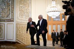 دیدار وزرای امور خارجه ایران و فرانسه
