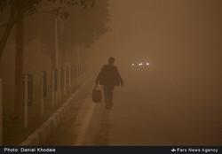 Sandstorm in Khuzestan