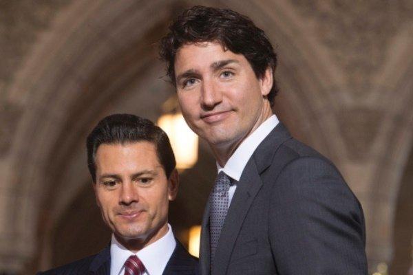 رهبران مکزیک و کانادا بر اهمیت «نفتا» تاکید کردند