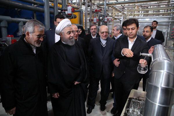 الرئيس روحاني يدشن اكبر مصافي الحبوب في الشرق الاوسط